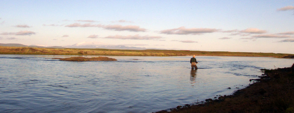 Fly fishing in Iceland – Mýrarkvísl – icelandfishingguide.com