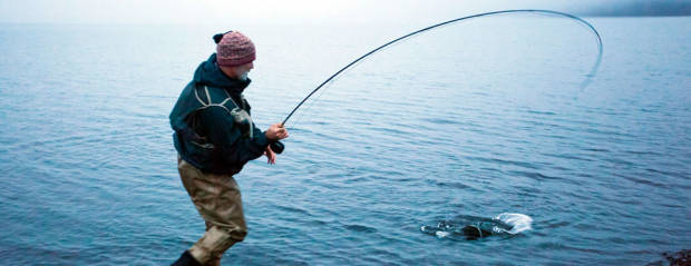 Fly fishing in Iceland – Thingvallavatn – icelandfishingguide.com