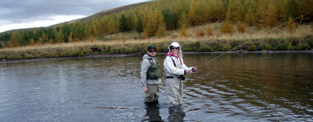 Fly fishing in Iceland - local knowledge - icelandfishingguide.com