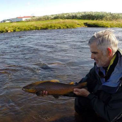 Best fly fishing in Iceland