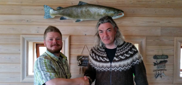 Fly fishing in Iceland - Mýrarkvísl - icelandfishingguide.com