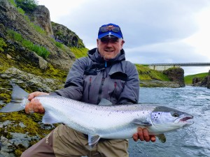 Salmon fishing in iceland 2019