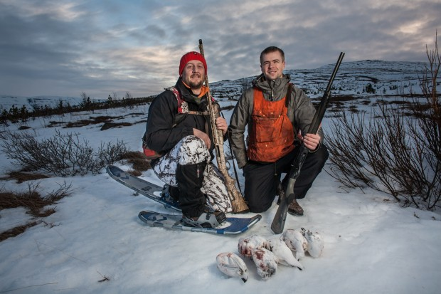 Hunting Iceland Goose guide waterfowl