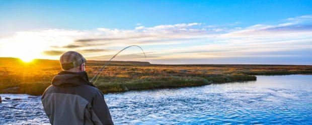 Fly fishing in Iceland – Deildara Salmon – icelandfishingguide.com